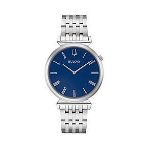 Bulova Men's Regatta Stainless Steel Watch - 96A233