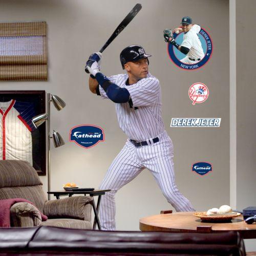 Fathead New York Yankees Derek Jeter Wall Decal