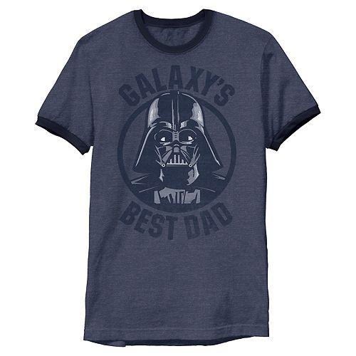 Men's Star Wars Darth Vader Galaxy's Best Dad Graphic Tee