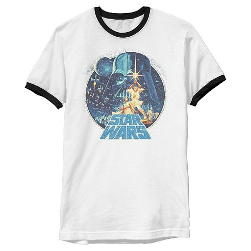 Men's Star Wars Vintage Victory Collage Cover Z! Graphic Tee