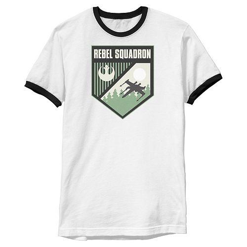 Men's Star Wars Rebel Squadron Seal Graphic Tee