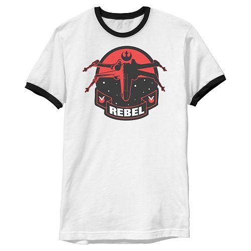 Men's Star Wars Rebel X-Wing Patch Graphic Tee