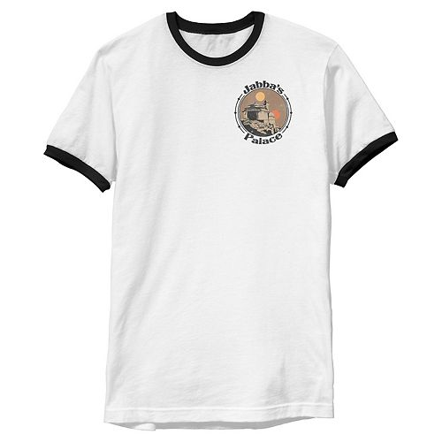 Men's Star Wars Jabba's Palace Left Chest Logo Graphic Tee