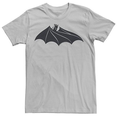 Men's DC Comics Batman Cloak Chest Logo Tee