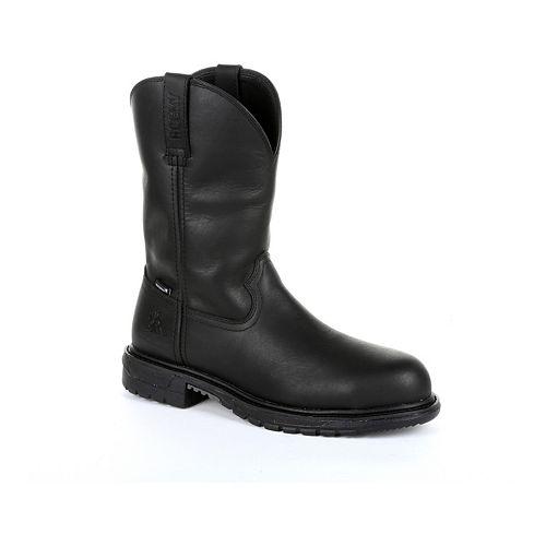 Rocky Original Ride FLX Men's Steel Toe Waterproof Western Boot