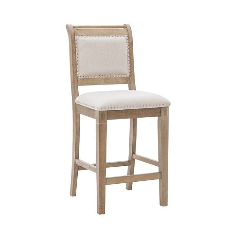 Linon Emmy Natural Counter Stool
