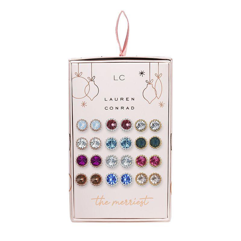 LC Lauren Conrad Miligrain Stud Earring Set, Women's