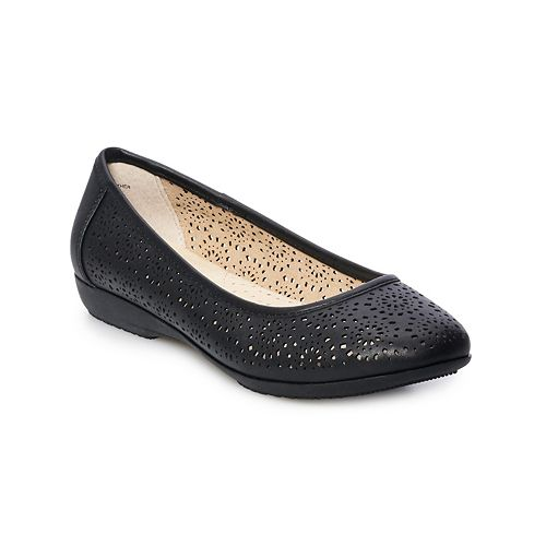 Croft & Barrow® Women's Baritone Ballet Flats