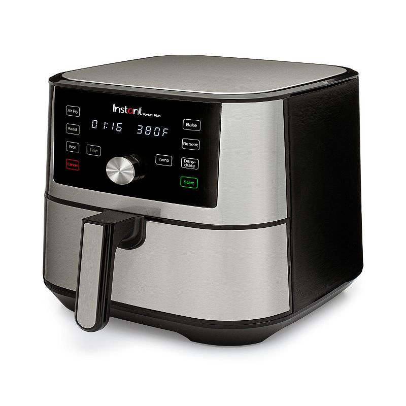 Instant Vortex Plus 6-qt. Air Fryer, Silver, 6 QT