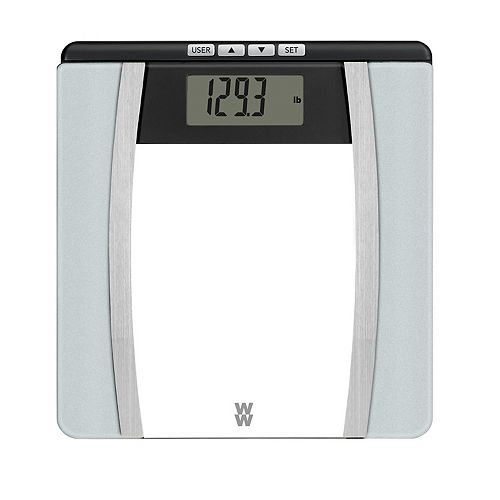 Weight Watchers Scales by Conair Body Analysis Glass Scale