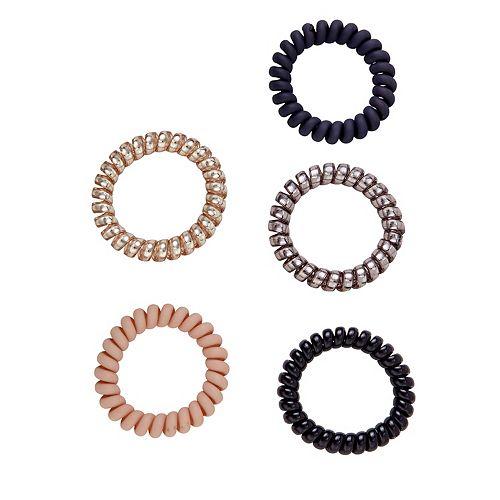SO® Metallic & Matte Hair Coil Set