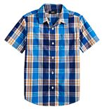 Boys 8-20 Urban Pipeline? Short Sleeve Plaid Button Down Shirt