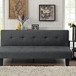 Serta® 3-Seat Convertible Futon Sofa