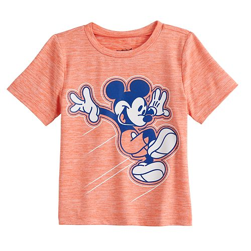 Disney's Mickey Mouse Baby Boy Short Sleeve Raincloud Set-In Tee by Jumping Beans®