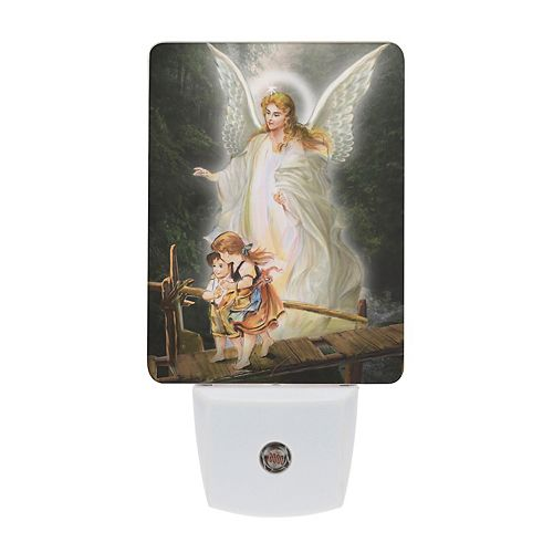 Saints Collection Unique Guardian Angel Plug In LED Night Light