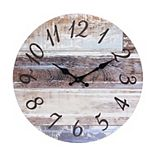 Vintage Farmhouse 14 Inch Round Hanging Wall Clock