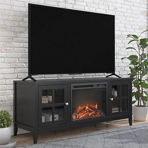 Ameriwood Home Franklin Fireplace TV Stand