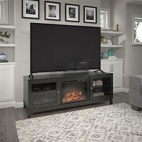 Ameriwood Home Ryan Point Fireplace TV Stand