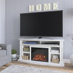 Ameriwood Home Stella Fireplace TV Stand