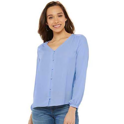 Women's Apt. 9® Button Front Top