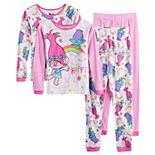 Girls 4-10 Trolls Poppy Tops & Bottoms Pajamas (4-piece set)