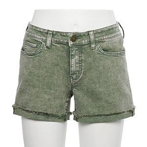Juniors' SO Low Rise Midi Shorts