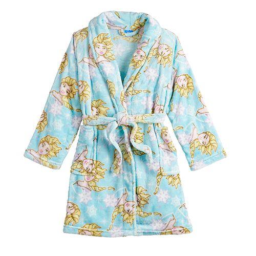 Disney's Frozen 2 Girls 4-10 Elsa Plush Robe