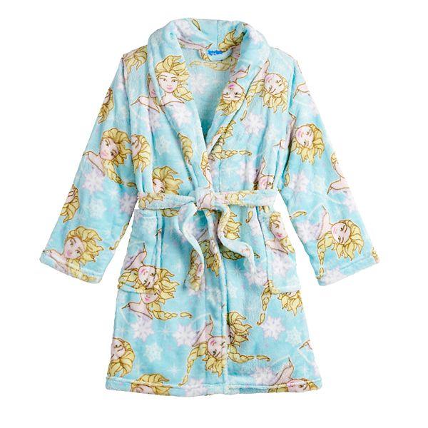 Disney S Frozen 2 Girls 4 10 Elsa Plush Robe