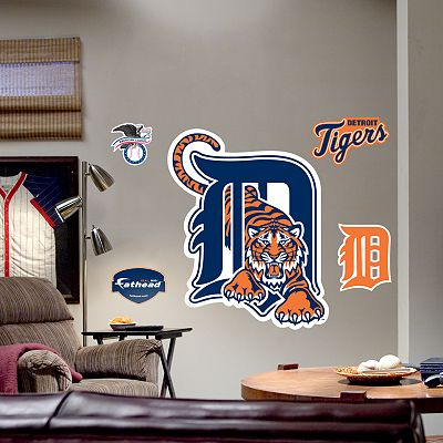 Fathead Detroit Tigers Logo Wall Decal