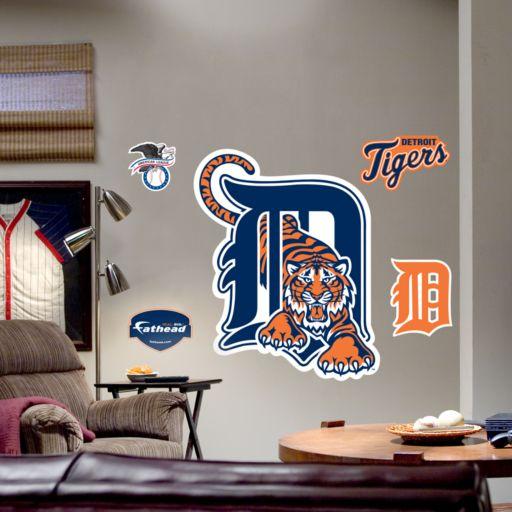 Fathead Detroit Tigers Logo Wall Decal