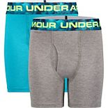 Boys 8-20 Under Armour 2-Pack Windstream Boxers
