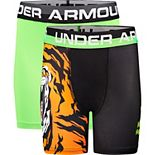 Boys 8-20 Under Armour 2-Pack Tiger Boxers