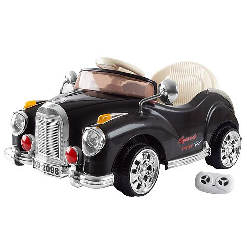 Lil' Ride Ride-on 6-Volt Battery Operated Classic Car with Remote