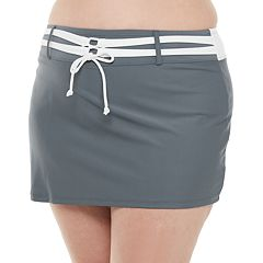 Free Country Belted Skirted Swim Bottoms Size XL New Msrp $44.00