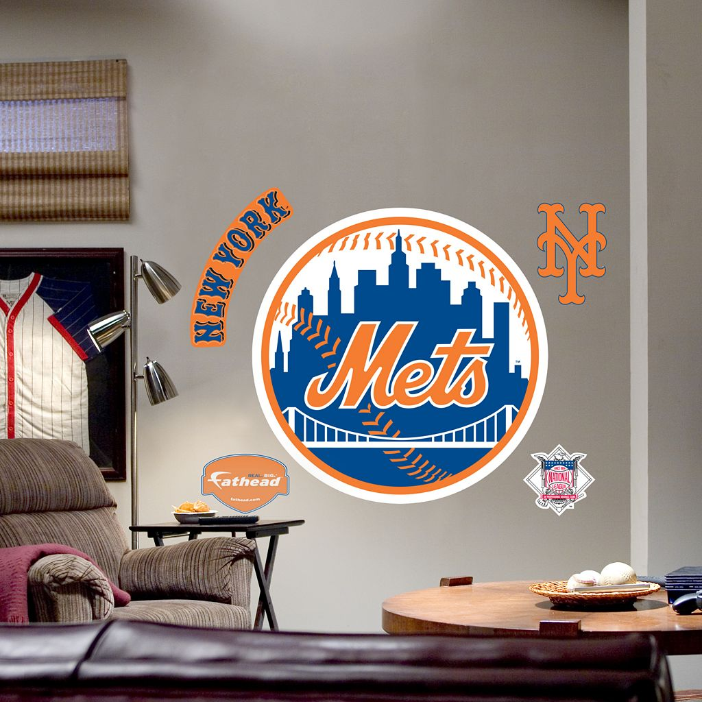 Fathead® New York Mets Logo Wall Decal