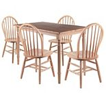 Winsome Ravenna 5-Piece Dining Table & Chairs Set