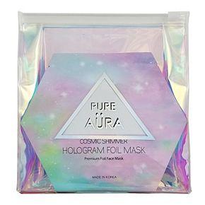 Pure Aura Travel Bag with 7 Face Masks Set