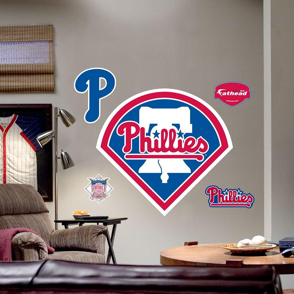 Fathead® Philadelphia Phillies Logo Wall Decal