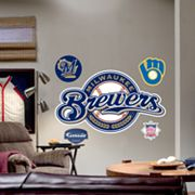 Fathead Milwaukee Brewers Logo Wall Decal