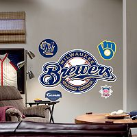 Fathead® Milwaukee Brewers Logo Wall Decal