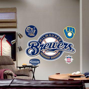 Fathead® Milwaukee Brewers Logo Wall Decal