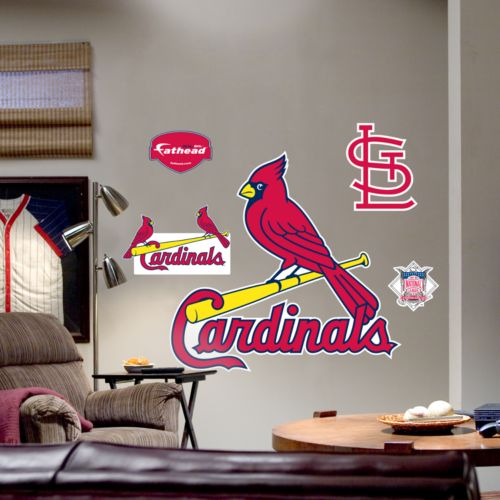 Fathead St. Louis Cardinals Logo Wall Decal