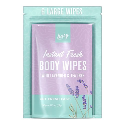 Busy Beauty Lavender Body Wipes