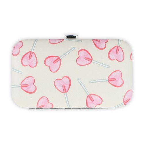 LC Lauren Conrad Heart Lollipop Print Manicure Kit
