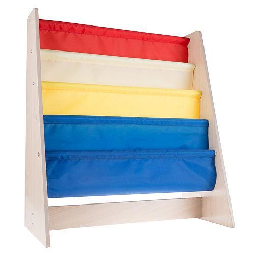Hey! Play! Kids' Bookshelf Storage Rack