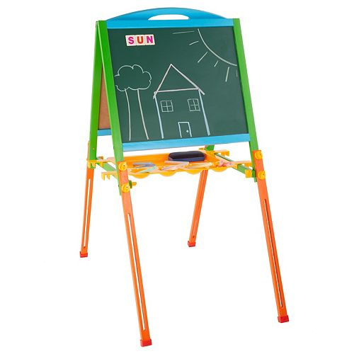Hey! Play! Two-Sided Kids Easel