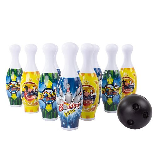 Hey! Play! Toy Bowling Pin Set