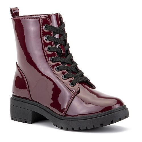 Olivia Miller Cant Touch This Women's Combat Boots