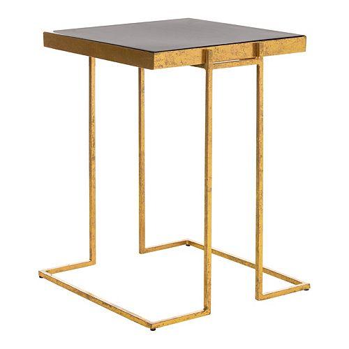 Safavieh Amarylis Greek Key Side Table