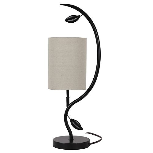 Decor Therapy Anna Leaf Table Lamp